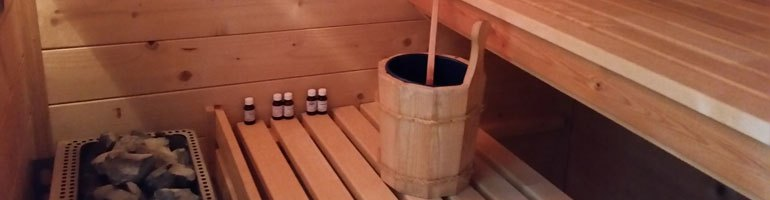 Sauna- en infraroodcabine